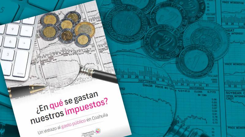 Finanzas Coahuila 2016   ¿En qué se gastan nuestros impuestos?