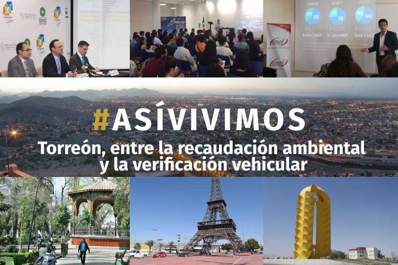 Torreón, entre la recaudación ambiental y la verificación vehicular