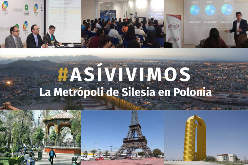 La Metrópoli de Silesia en Polonia