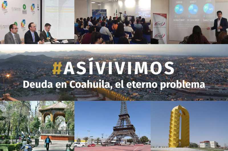 Deuda en Coahuila, el eterno problema