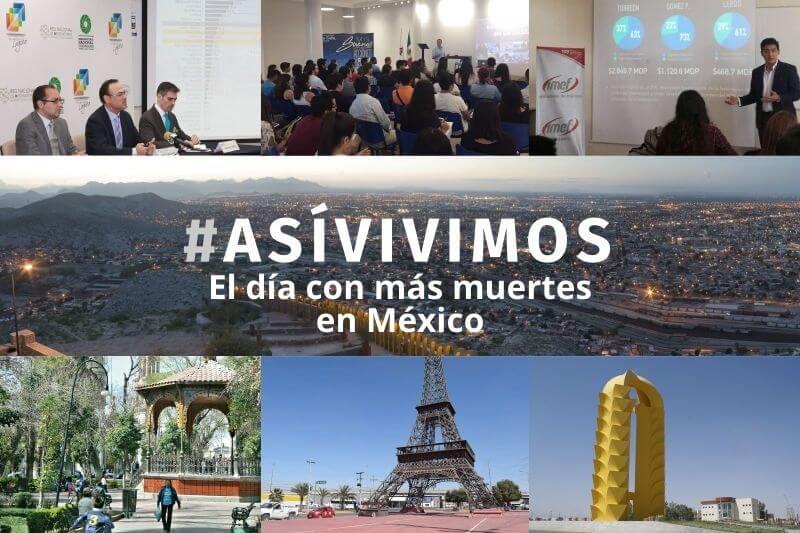 El día con más muertes en México